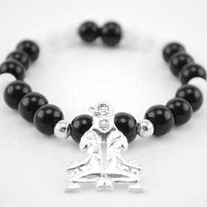 agate and jade bracelet