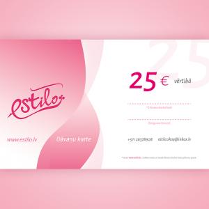 dāvanu karte 25 eiro