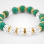 turquoise swarowski bracelet