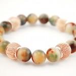 multicolor jade brcelet