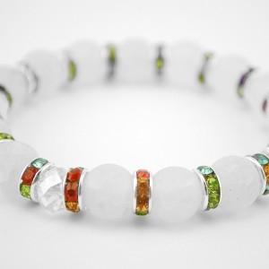 agate bracelet rainbow
