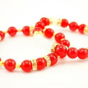 jade and agate bracelet