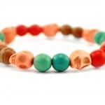 scull bracelet