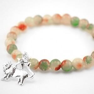 agat lion bracelet