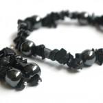 Hematīta un obsidiāna komplekts