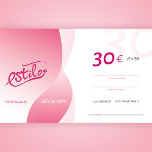 dāvanu karte 30 eiro